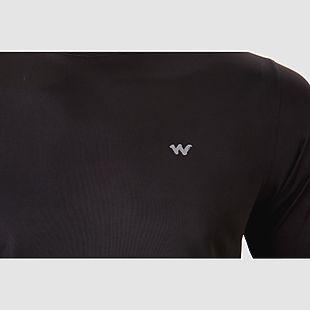Wildcraft Men Hypacool  Full Sleeve Hiking T Shirt - Black