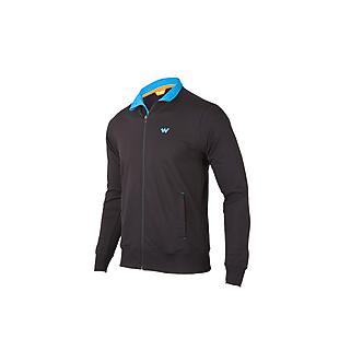 Wildcraft Men Zippered Sweatshirt - Black