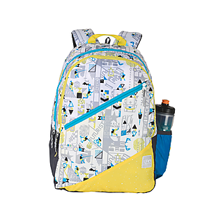 Wildcraft Wiki 3 Jock Backpack - White