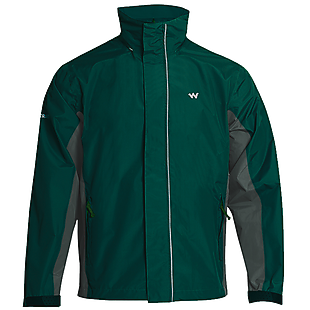 Wildcraft Hypadry Pro Unisex Rain Cheater - Green