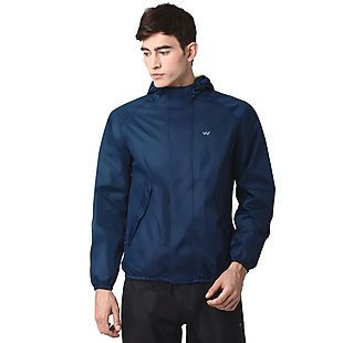 Wildcraft Hypadry Plus Unisex Rain Jacket - Navy