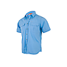 Wildcraft Men Half Sleeve Solid Shirt - Alaskan Blue