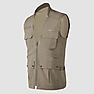 Wildcraft Men Utility Vest - Walnut Brown